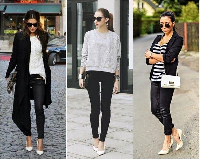 Como usar sapato branco em um look estiloso?