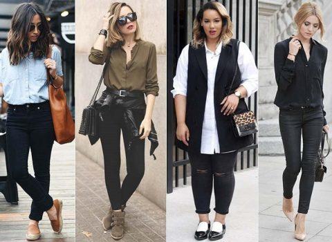 Calça Jeans Preta ideal para todos os gostos