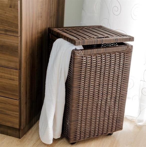 Atenção com o cesto de roupa suja