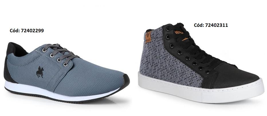 Tênis ou Sapato Casual