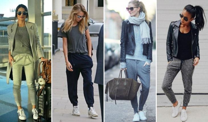 Diferentes modelagens de calças