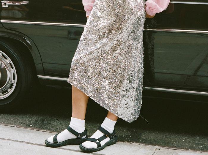 Truque de Styling: Papete + meias