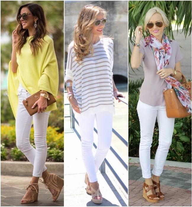 Experimente usar com a calça skinny
