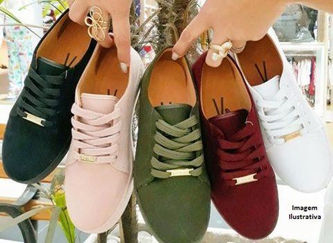 Abuse nos calçados com as cores tendências de 2021