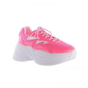 Oferta especiais Tênis Chunky na cor pink